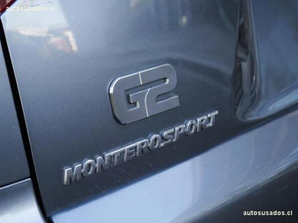 Mitsubishi Montero G2 2.5 año 2015