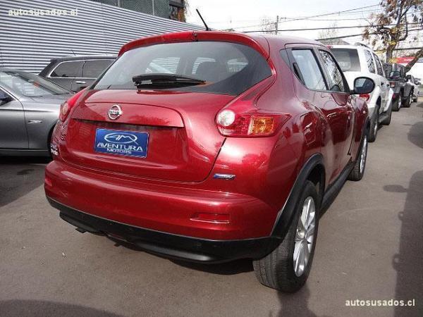 Nissan Juke 1.6 año 2014