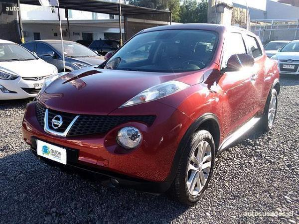 Nissan Juke 1.6 UPPER MT TURBO FL año 2014