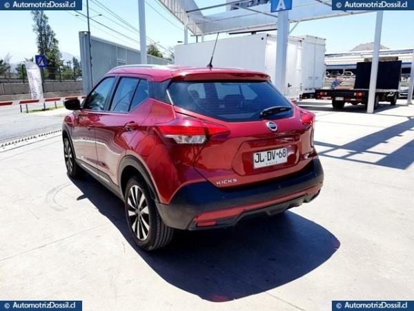 Nissan Kicks ADVANCE 1.6 año 2017