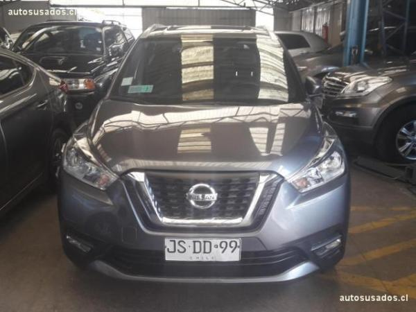 Nissan Kicks EXCLUSIVE M-CVT año 2017