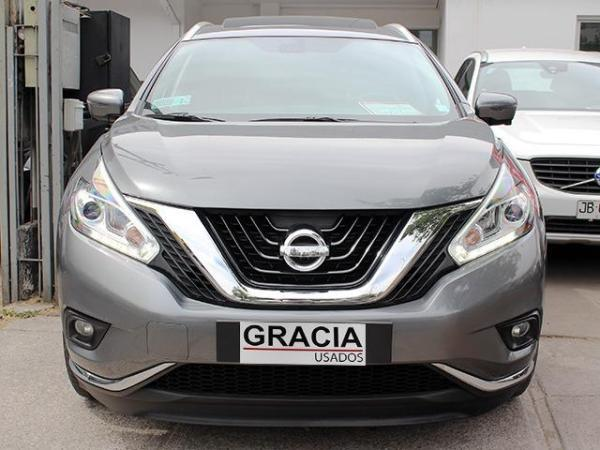 Nissan Murano 3.5 CVT AT EXCLUSIVE AWD año 2017