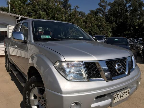 Nissan Navara 2.5 LE 4X4 año 2013