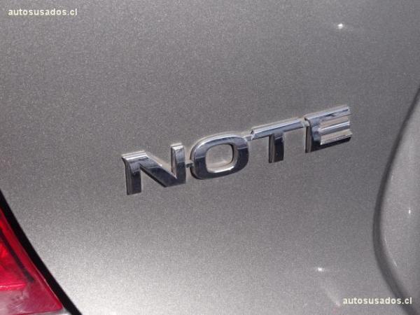 Nissan Note ADVANCE año 2016
