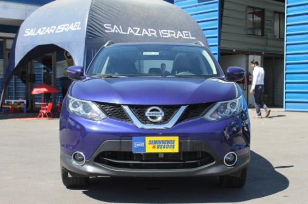 Nissan Qashqai QASHQAI EXCLUSIVE M-CVT año 2016