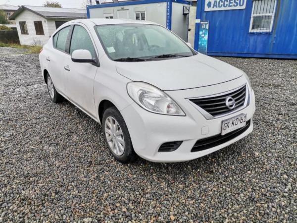 Nissan Versa SENSE 1.6 año 2014