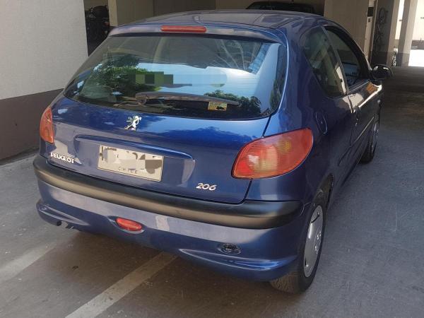 Peugeot 206 XR 1.6 año 2007