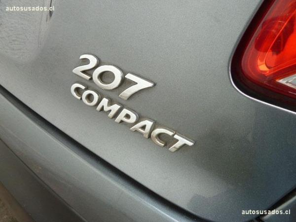 Peugeot 207 COMPACT X-LINE 1.4 año 2011