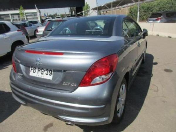 Peugeot 207 CC SPORT 1.6 120HP . año 2012
