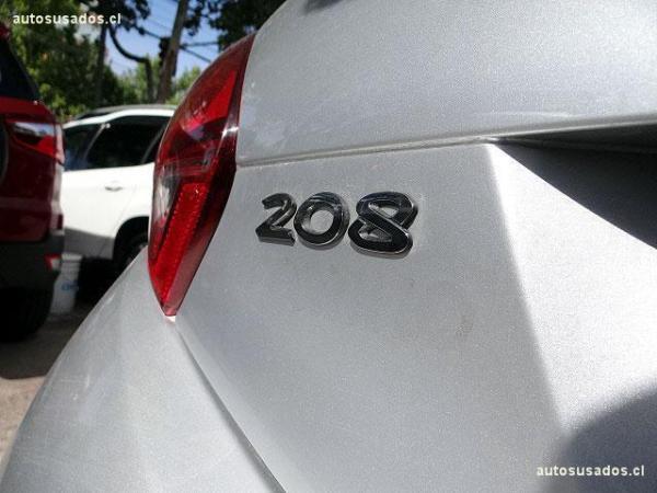Peugeot 208 ACTIVE año 2016