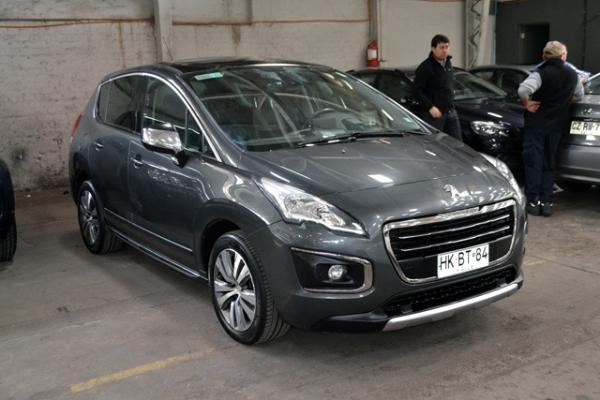Peugeot 3008 ALLURE HDI año 2015