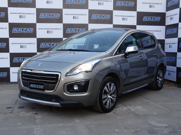Peugeot 3008 MT año 2016
