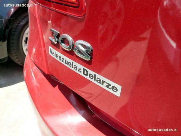 Peugeot 308  año 2014