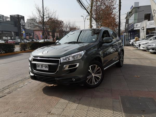 Peugeot 4008 2.0 cvt 4wd allure año 2014