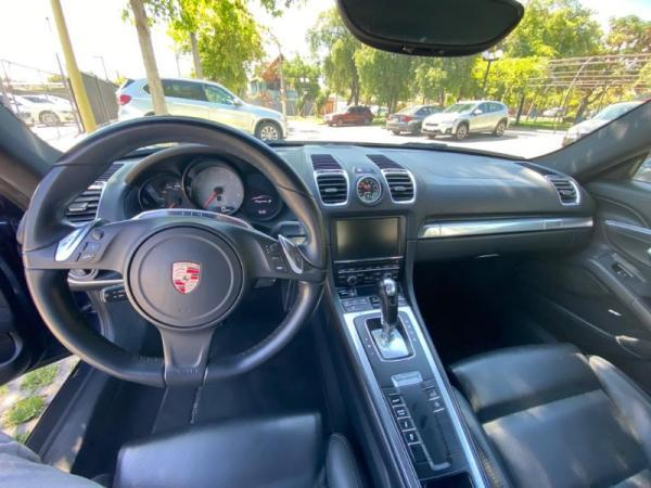 Porsche Cayman S 981 año 2014