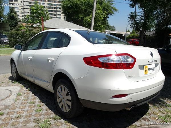 Renault Fluence AUTHENTIQUE 2.0 año 2013