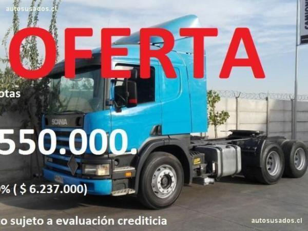 Scania P310 Tracto 6x2 año 2007