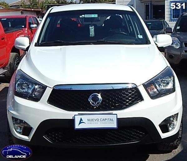 Ssangyong Actyon Sports 531 ACTION SPORTS 4X4 2.0 año 2014