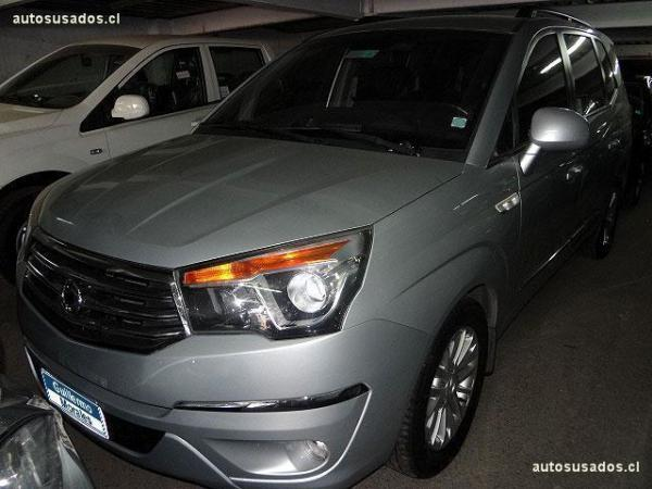 Ssangyong Stavic 4x4 año 2014