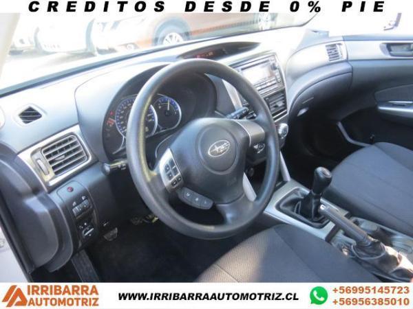 Subaru Forester 2.0 MT X AWD año 2012