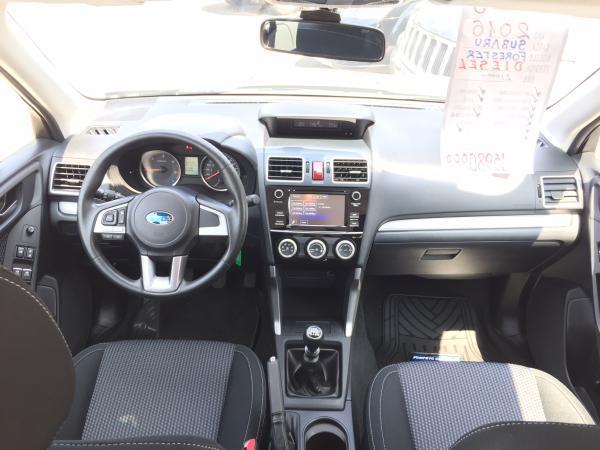 Subaru Forester 2.0 MT año 2016