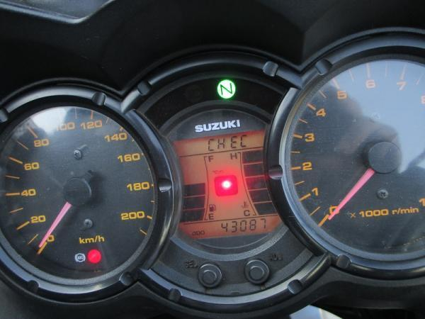 Suzuki VStrom 650 ABS año 2008