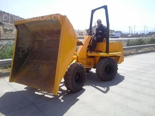Thwaites Dumper Dumper trabajo pesado año 2001