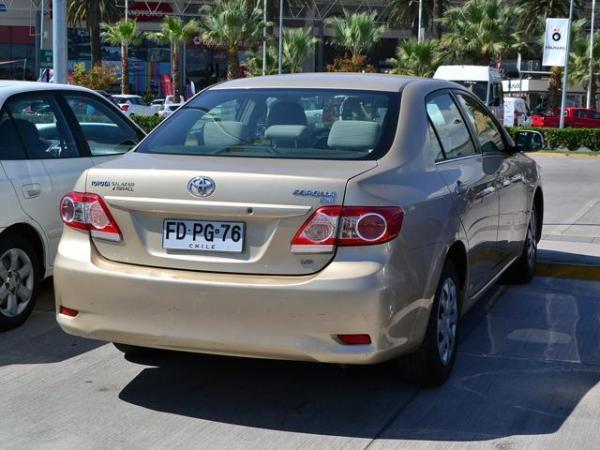 Toyota Corolla Corolla Gli 1.6 año 2013