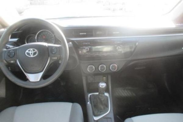 Toyota Corolla GL 1.8 año 2014