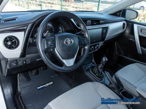 Toyota Corolla 1.8 año 2019