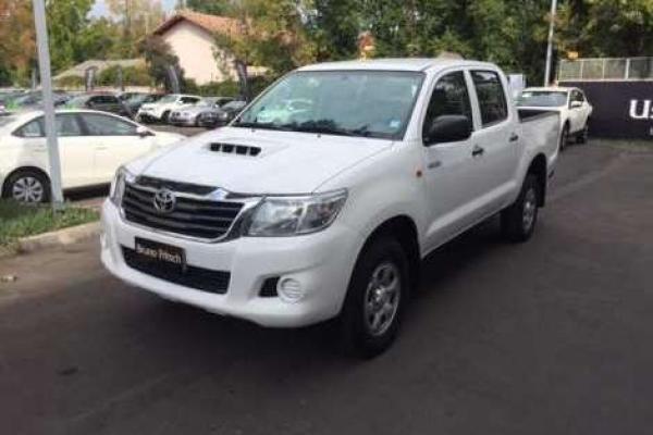 Toyota Hilux 2.5 D/C 4X2 año 2012