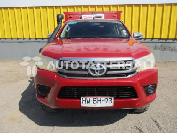 Toyota Hilux SR año 2016