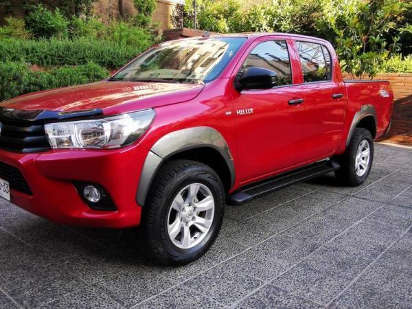 Toyota Hilux HILUX DX 4X4 2.4 año 2017