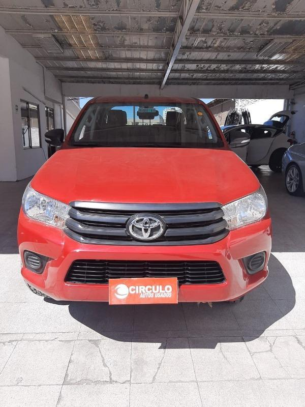 Toyota Hilux 4X2 2.4 MT DX (WIDE) año 2017