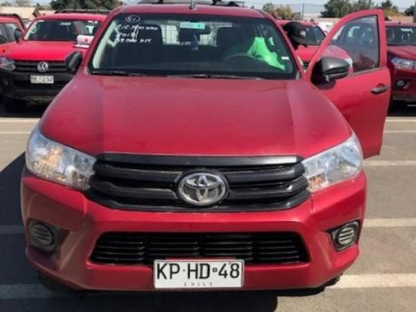 Toyota Hilux HILUX 2.4 4X4 año 2018