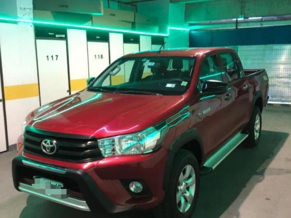 Toyota Hilux 2.4 DX 4x4 año 2019