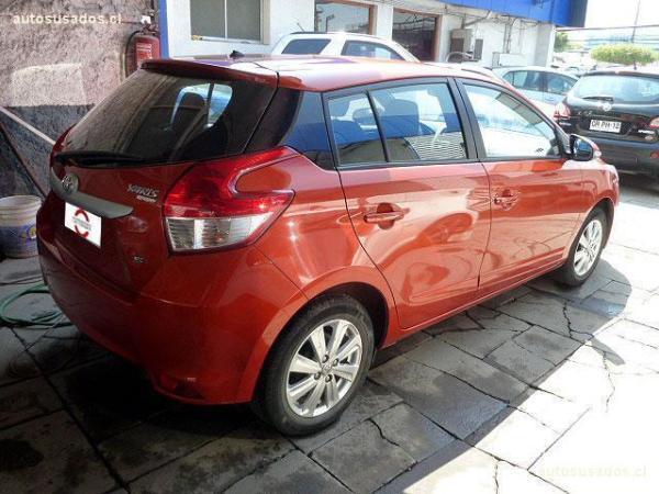 Toyota Yaris SPORT año 2015