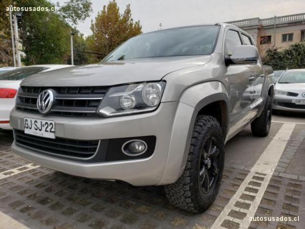 Volkswagen Amarok HIGHLINE TDI MT 4MOTION año 2014