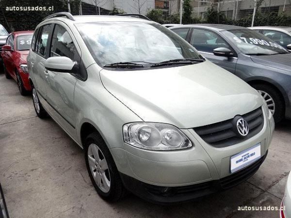 Volkswagen Suran HIGHLINE año 2009