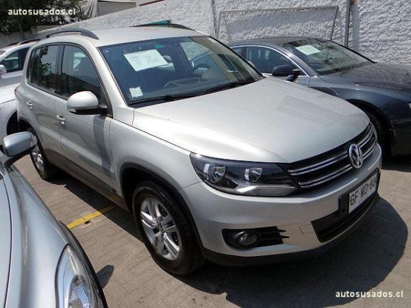 Volkswagen Tiguan TSI 4-MOTION año 2014