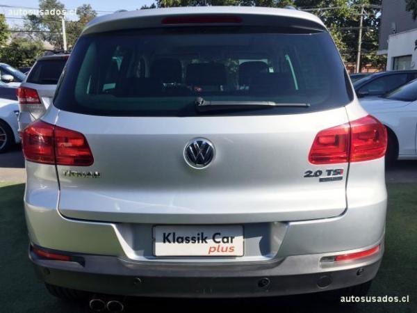 Volkswagen Tiguan gl año 2014