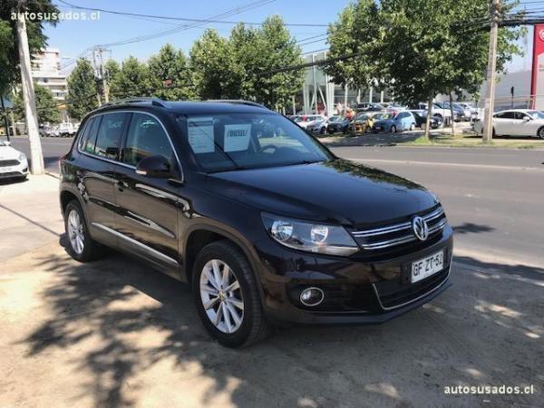 Volkswagen Tiguan HIGHLINE TDI 4X4 2.0 año 2014