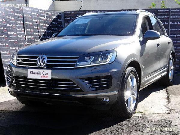 Volkswagen Touareg 4.2 TDI año 2017