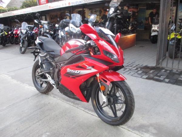Zongshen Thunder 250 año 2015